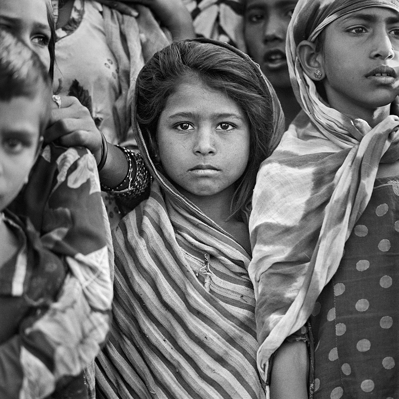 © Christine Turnauer – Children at the Pushkar fair, India, 2015