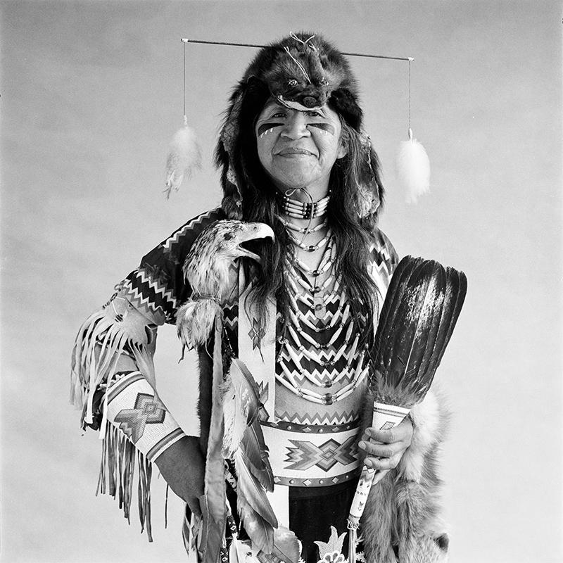 © Christine Turnauer – Ernie Philip, Shushwap, 1986