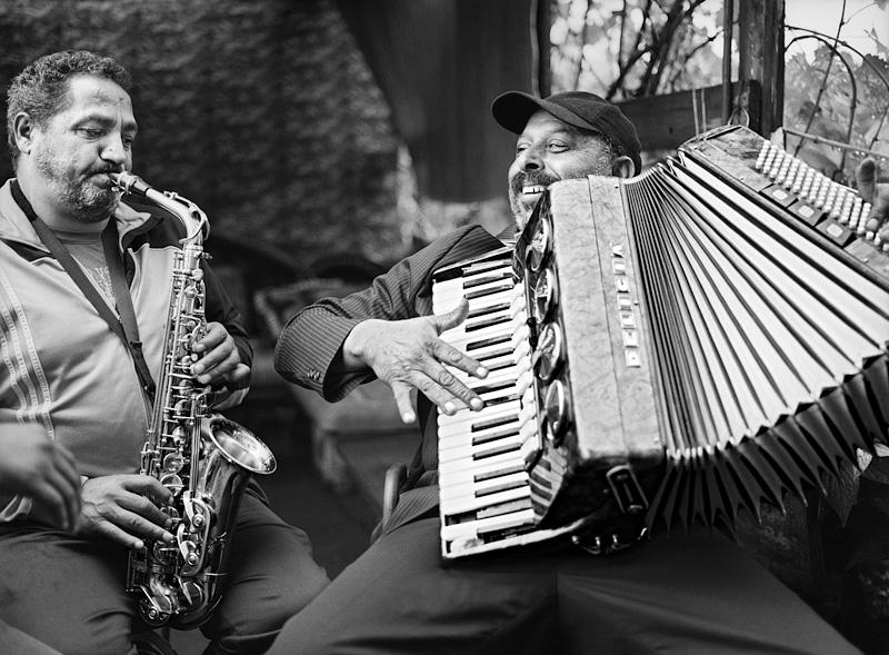 © Christine Turnauer – Esat and Besim, wedding musicians, Konik, Montenegro, 2016