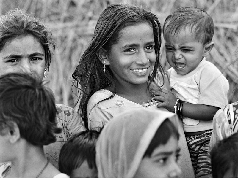 © Christine Turnauer – Group of children, Mirasi tribe, Modha village, India, 2015