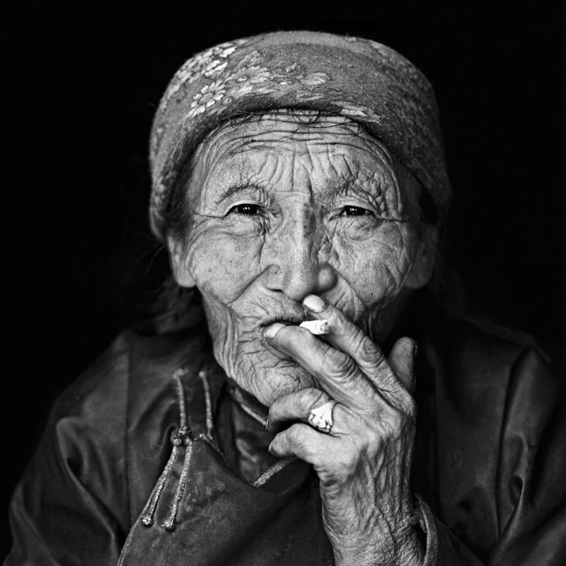 © Christine Turnauer – Punzel, Tsaatan nomad, North Mongolia, 2013, Coal pigment print