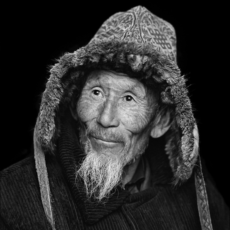 © Christine Turnauer – Abil, Kazakh nomad, North-West Mongolia, 2013, Coal pigment print
