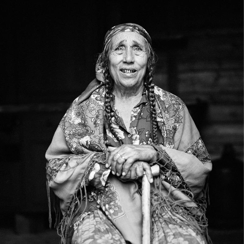 © Christine Turnauer – Beria, Rom Kaldarar, Transnistria survivor, Sibiu, Romania, 2016
