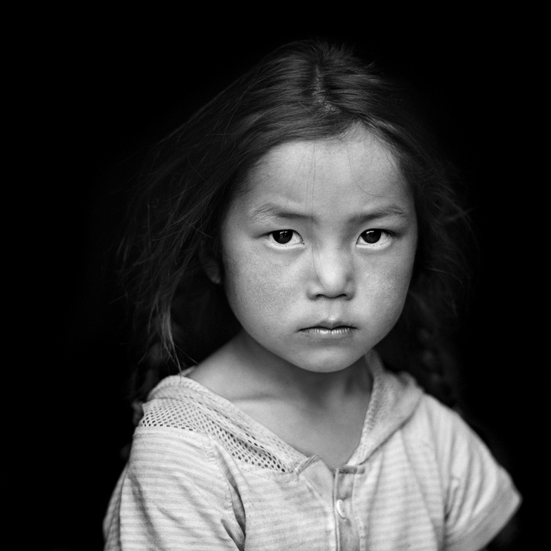 © Christine Turnauer – Enthgen, Tsaatan, reindeer herder, North Mongolia, 2013, Coal pigment print