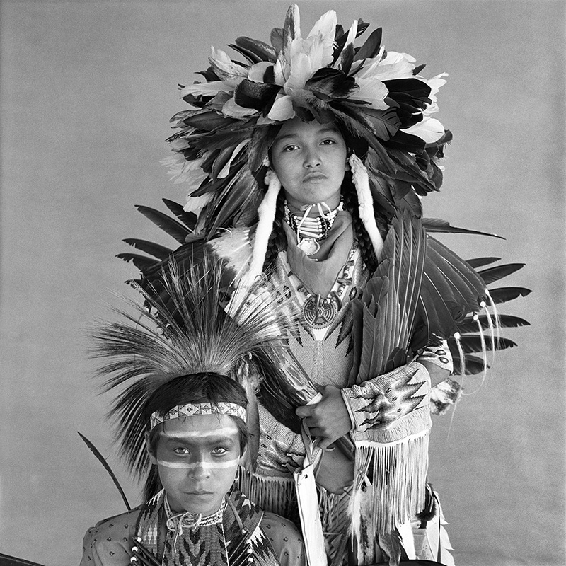 © Christine Turnauer – Leon Whitstone and Jason Daniel, Cree, 1986