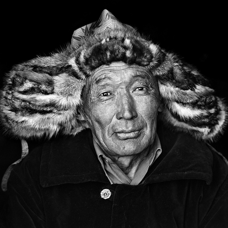 © Christine Turnauer – Ablaikan, Kazakh nomad, North-West Mongolia, 2013, Coal pigment print