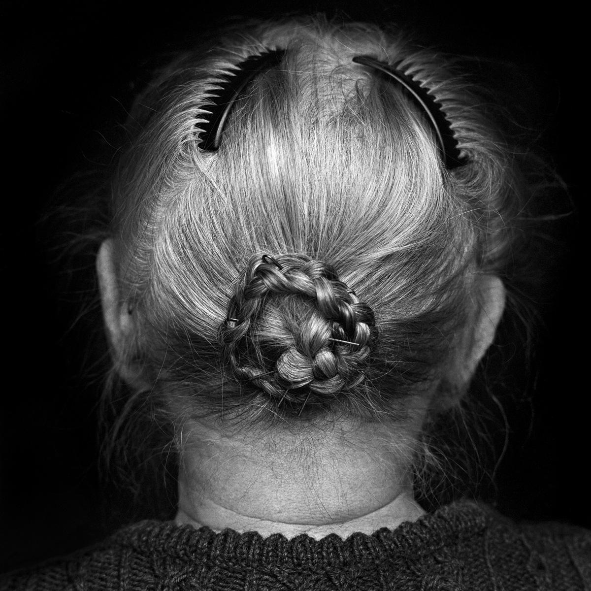 © Christine Turnauer - Maria, farmer, Attersee, Austria, 1996, Coal pigment print
