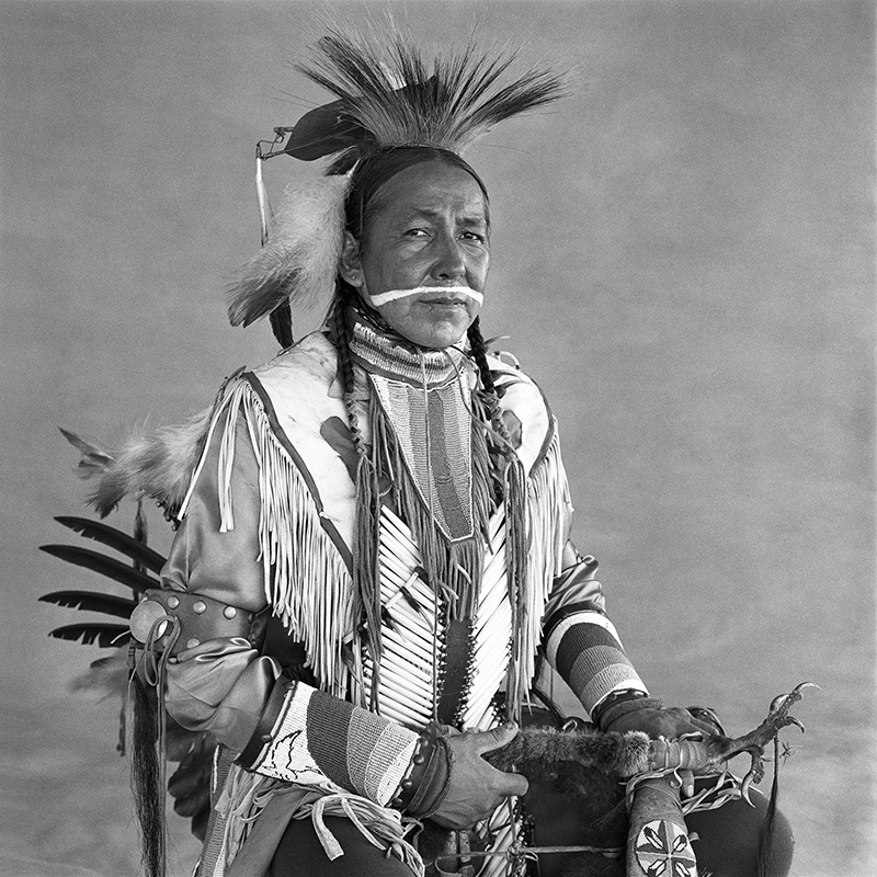 © Christine Turnauer – Charles Tailfeathers, Blood, 1985