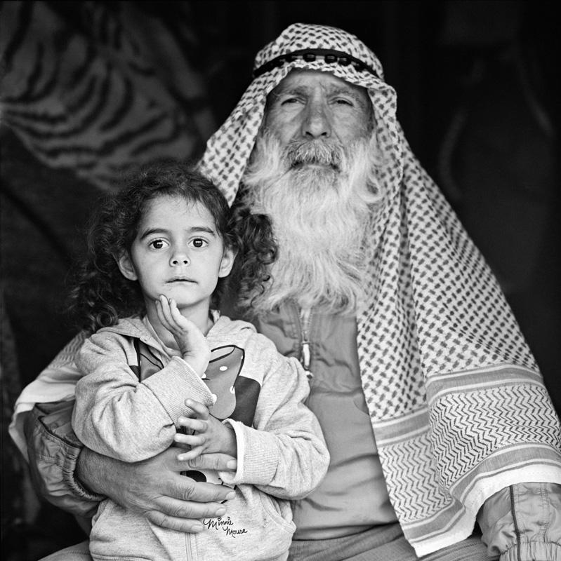 © Christine Turnauer – Hadci Hassan and his granddaughter, Konik, Montenegro, 2016
