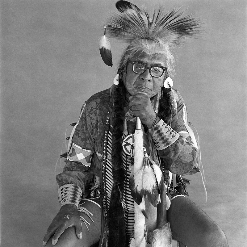 © Christine Turnauer – Horace Axtel, Nez Percé, 1986