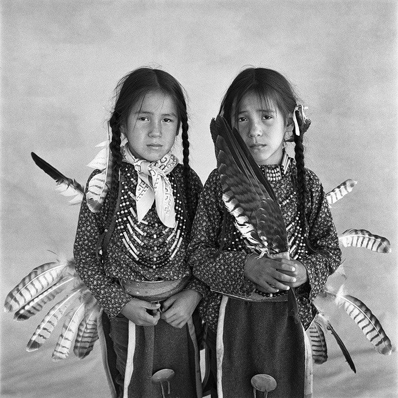 © Christine Turnauer – Sheldan and Sheridan, twins, Blood, 1986