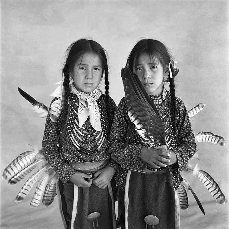 © Christine Turnauer – Sheldan and Sheridan, twins, Blood, 1986